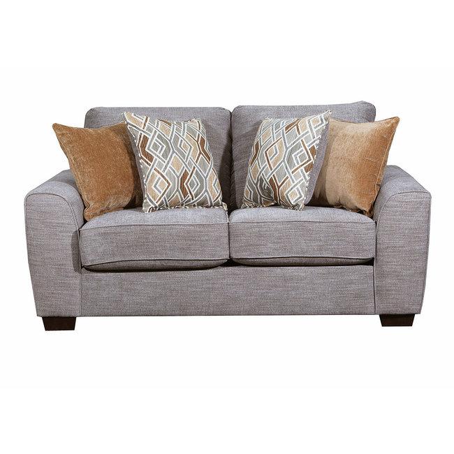 Lane® Home Furnishings 9770 Pompeii Silver Loveseat-9770BR-02-9150B