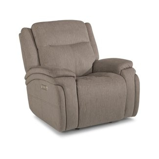 Flexsteel Furniture Rocket | Power Gliding Recliner with Power Headrest 1486-54PH in 649-72