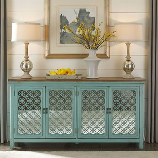 Liberty Furniture Kensington  4 Door Accent Cabinet SKU: 2011-AC7236