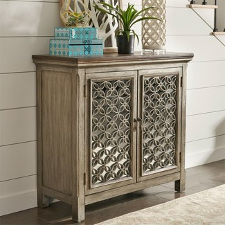 Liberty Furniture Westridge 3 Door Accent Cabinet SKU: 2012-AC5636