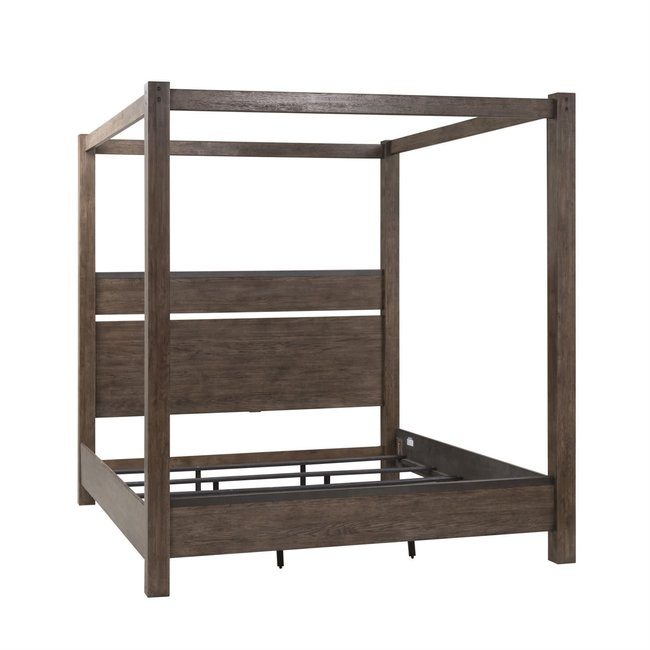 Liberty Furniture Sonoma Road King Canopy Bed (473-BR-KCB)