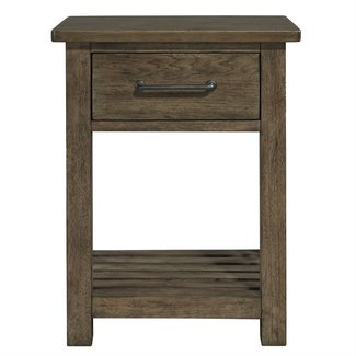 Liberty Furniture Sonoma Road 1 Drawer Night Stand 473-BR62
