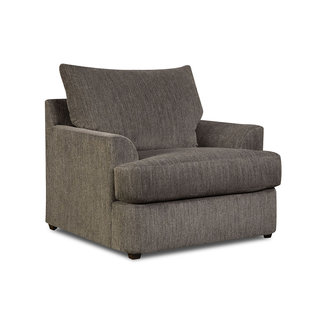 Lane Home Furnishings 8540 Grandstand Flannel Chair 1/4-8540BR-01-8817B