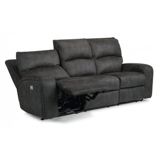 Flexsteel Furniture Nirvana | Power Reclining Sofa with Power Headrests 1650-62PH
