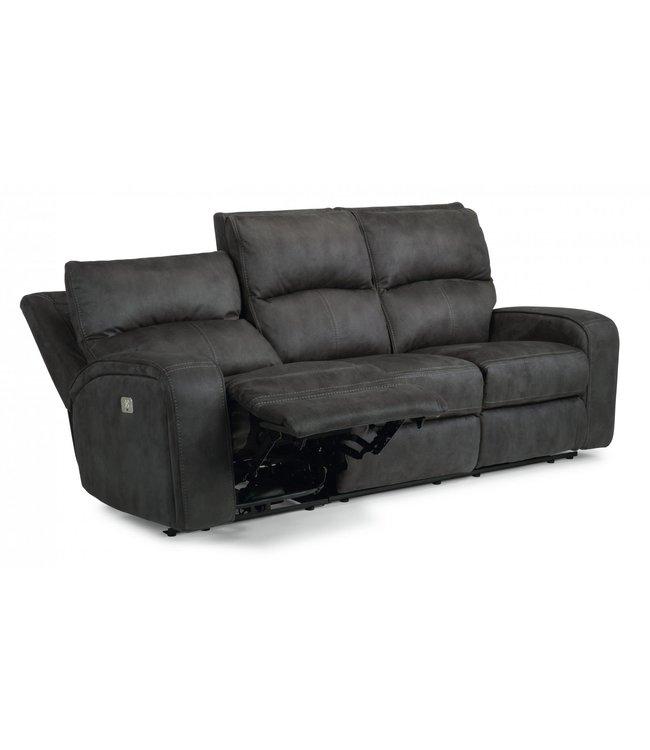 Flexsteel Furniture Nirvana | 1650  POWER RECLINING SOFA WITH POWER HEADRESTS  1650-62PH