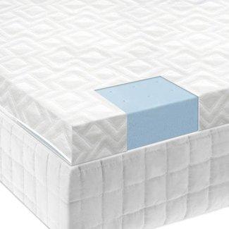 """Malouf Sleep Isolus 2.5"""" Gel Memory Foam Mattress Topper"""