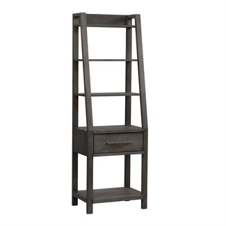 Liberty Furniture Modern Farmhouse (406-HO) Leaning Bookcase 406-HO201