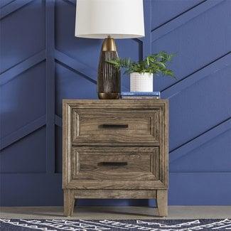 Liberty Furniture Ridgecrest 2 Drawer Night Stand 384-BR61