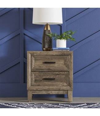 Liberty Furniture Ridgecrest (384-BR) 2 Drawer Night Stand 384-BR61