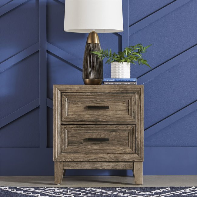 Liberty Furniture Ridgecrest 2 Drawer Night Stand 384-BR61