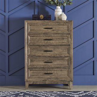 Liberty Furniture Ridgecrest (384-BR) 5 Drawer Chest 384-BR41