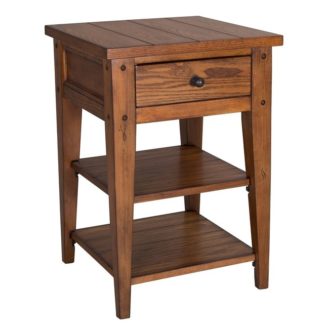Liberty Furniture Lake House Chair Side Table W18 x D18 x H26