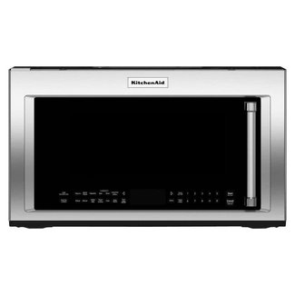 Whirlpool KitchenAid 1.9 cu. ft. Over the Range Convection Microwave in Stainless Steel with Sensor Cooking Technology