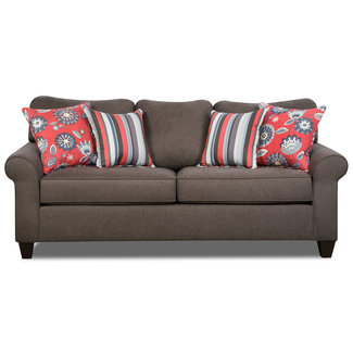 Lane® Home Furnishings 1690 Brown Queen Size Sofa Sleeper-1690-04Q-8872A