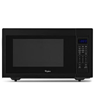 Whirlpool 1.6 cu. ft. Countertop Microwave in Black, Built-In Capable with Sensor Cooking