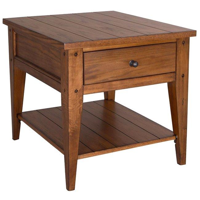 Liberty Furniture Lake House End Table SKU: 110-OT1020