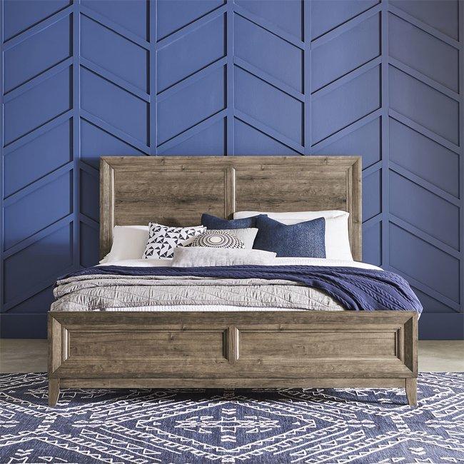 Liberty Furniture Ridgecrest Panel Bed 384-BR-QPB