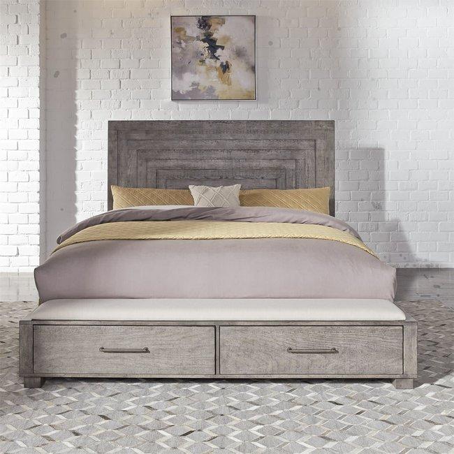Liberty Furniture Modern Farmhouse Queen Storage Bed (406-BR-QSB)