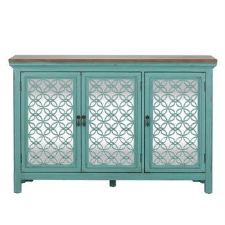 Liberty Furniture Kensington  3 Door Accent Cabinet SKU: 2011-AC5636
