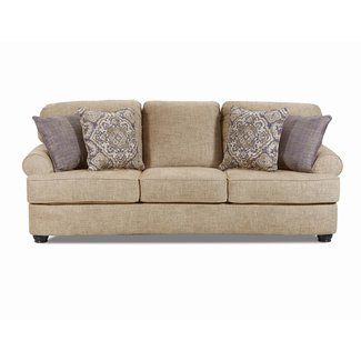 Lane Home Furnishings 8023 Brookhaven Crosby Oatmeal Sofa-8023-03-CROSBY OATMEAL
