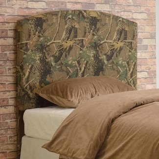 Crown Mark Camo Twin Headboard