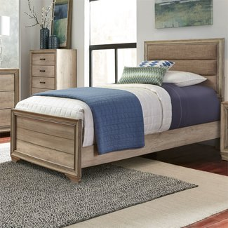 Liberty Furniture Sun Valley Twin Upholstered Bed (439-BR-TUB)