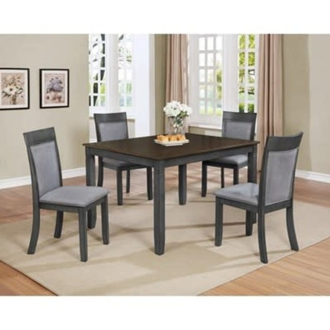 Crown Mark Charlie   5-Piece Dinette   Deal Of The Day $399.99