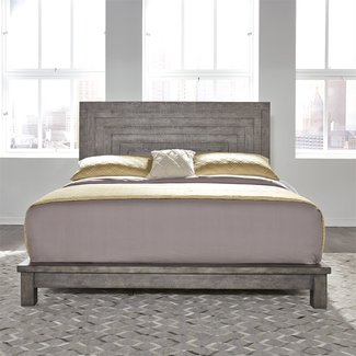 Liberty Furniture Modern Farmhouse (406-BR) Queen Platform Bed SKU: 406-BR-QPL
