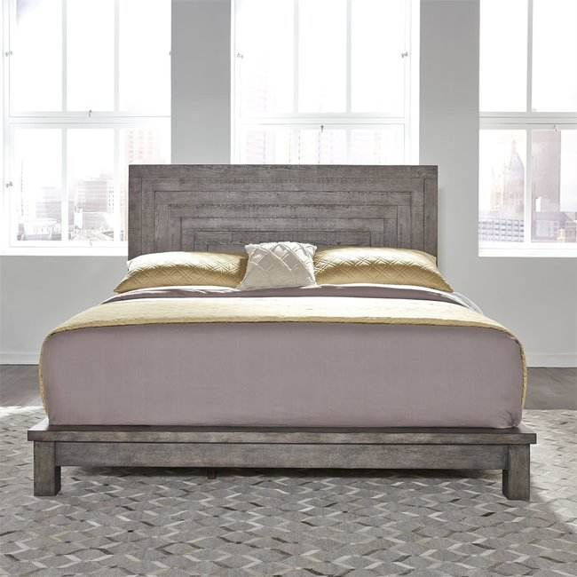 Liberty Furniture Modern Farmhouse King Platform Bed (406-BR-KPL)