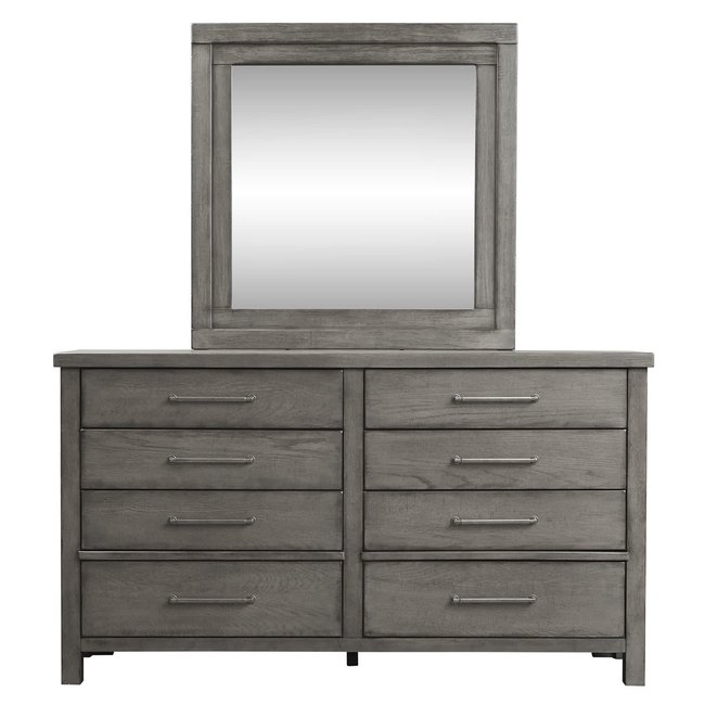 Liberty Furniture Modern Farmhouse (406-BR) Dresser & Mirror SKU: 406-BR-DM