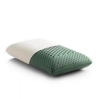 Malouf Sleep Zoned Dough CBD Pillow, Mid Loft
