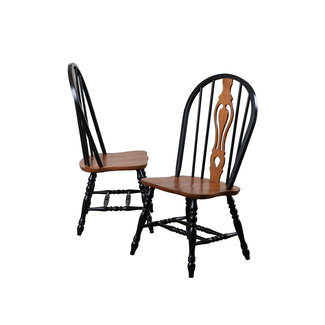 Sunset Trading Keyhole 124 Dining Chair | Set of 2