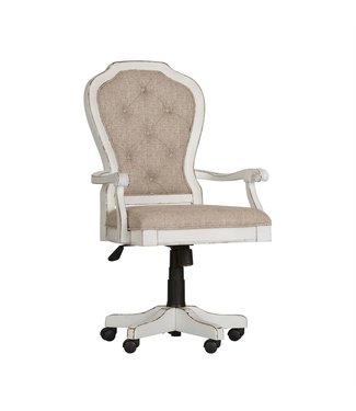 Liberty Furniture Magnolia Manor (244-HOJ) Jr Executive Desk Chair SKU: 244-HO197
