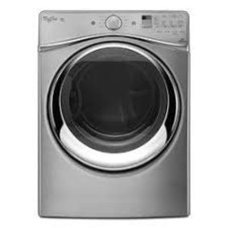 Whirlpool Duet 7.4 Cu. Ft. Chrome Shadow Electric Dryer with Steam WED95HEDC
