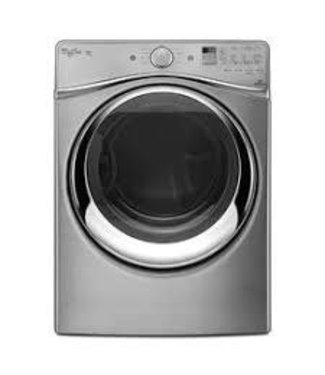 Whirlpool WED95HEDU Duet Series 27 Inch Electric Dryer with 7.4 cu. ft. Capacity, 10 Dry Cycles, 5 Temperature Settings, Energy Star Certified, EcoBoost in Diamond Steel