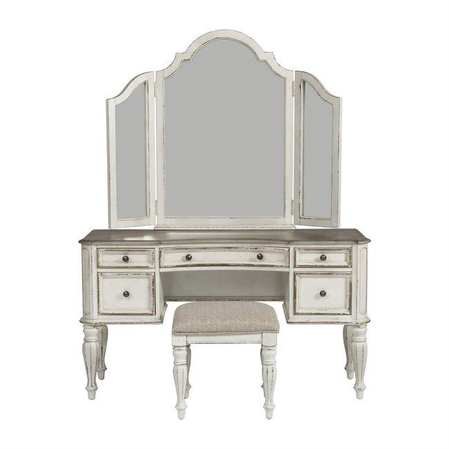 Liberty Furniture Magnolia Manor (244-BR) 3 Piece Vanity Set SKU: 244-BR-VN