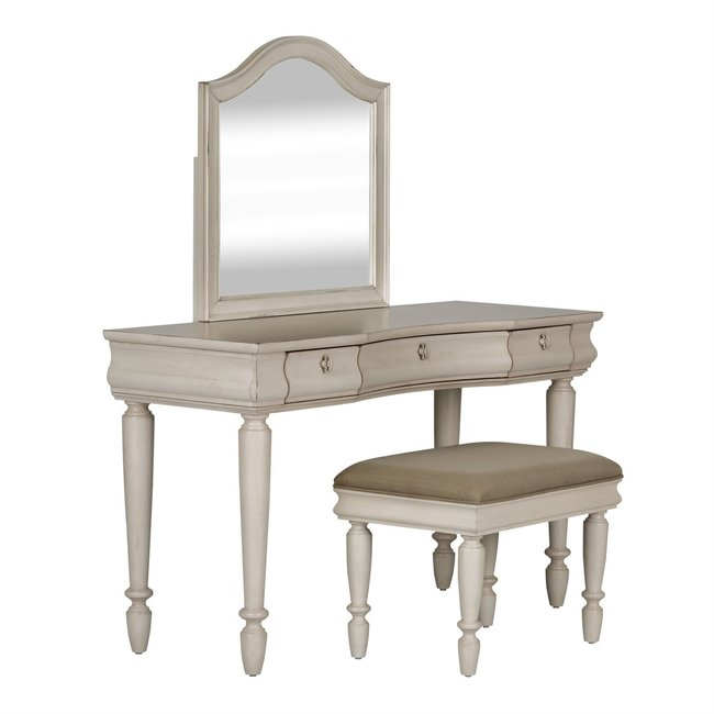 Liberty Furniture Rustic Traditions II (689-BR) 3 Piece Vanity Set SKU: 689-BR-VN