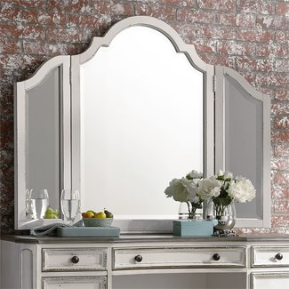 Liberty Furniture Magnolia Manor (244-BR) Vanity Mirror SKU: 244-BR55