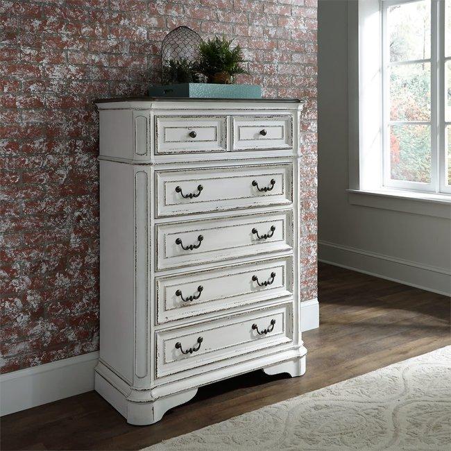 Liberty Furniture Magnolia Manor (244-BR) 5 Drawer Chest SKU: 244-BR41