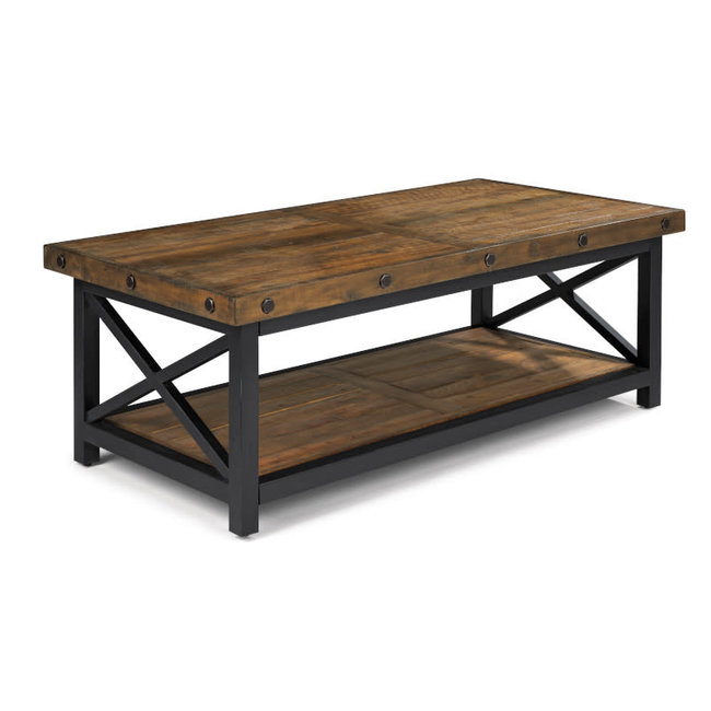 Flexsteel Furniture Carpenter | Rectangular Cocktail Table 6722-031