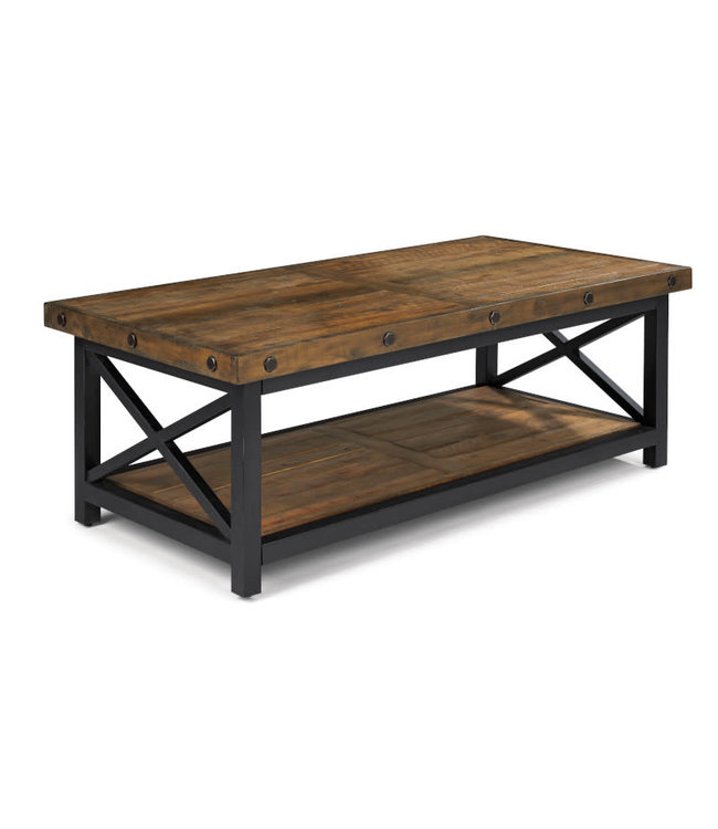 Flexsteel Furniture Carpenter | Rectangular Cocktail Table 6722-031