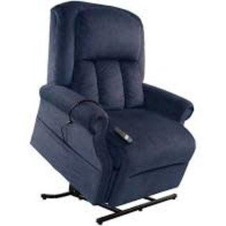 Mega Motion NM7001 Lunar Navy 500LB Capacity Lift Chair MM-7001/Navy