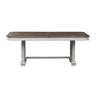 Liberty Furniture Abbey Park (520-DR) Trestle Table SKU: 520-DR-TRS
