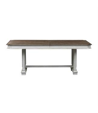 Liberty Furniture Abbey Park (520-DR) Trestle Table SKU: 520-DR-TRS