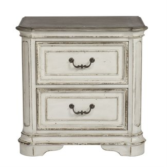 Liberty Furniture Magnolia Manor (244-BR) 2 Drawer Night Stand SKU: 244-BR61