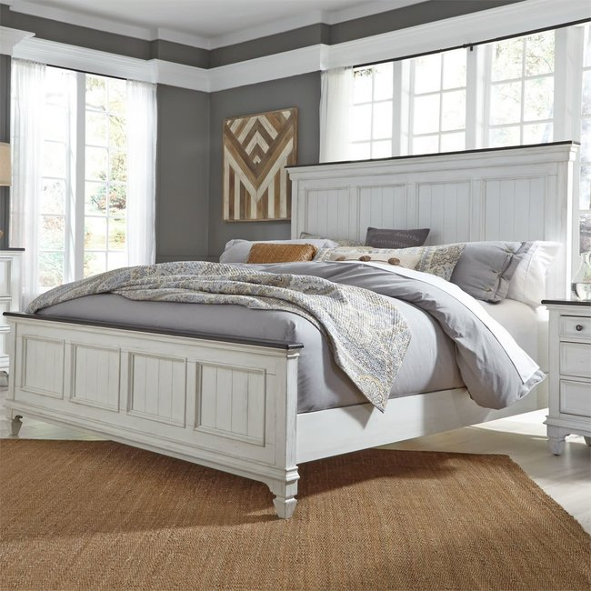 Liberty Furniture Allyson Park Panel Bed