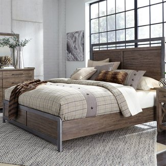 Liberty Furniture Sonoma Road (473-BR) Panel Bed