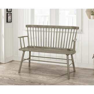Crown Mark Spindleback Bench