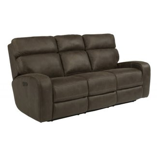 Flexsteel Furniture Tomkins | 1326-62PH   Power Reclining Sofa With Power Headrests