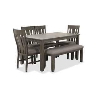 Lane® Home Furnishings 5045 Hawthorne 6-Piece Grey Dining Set-5045-54